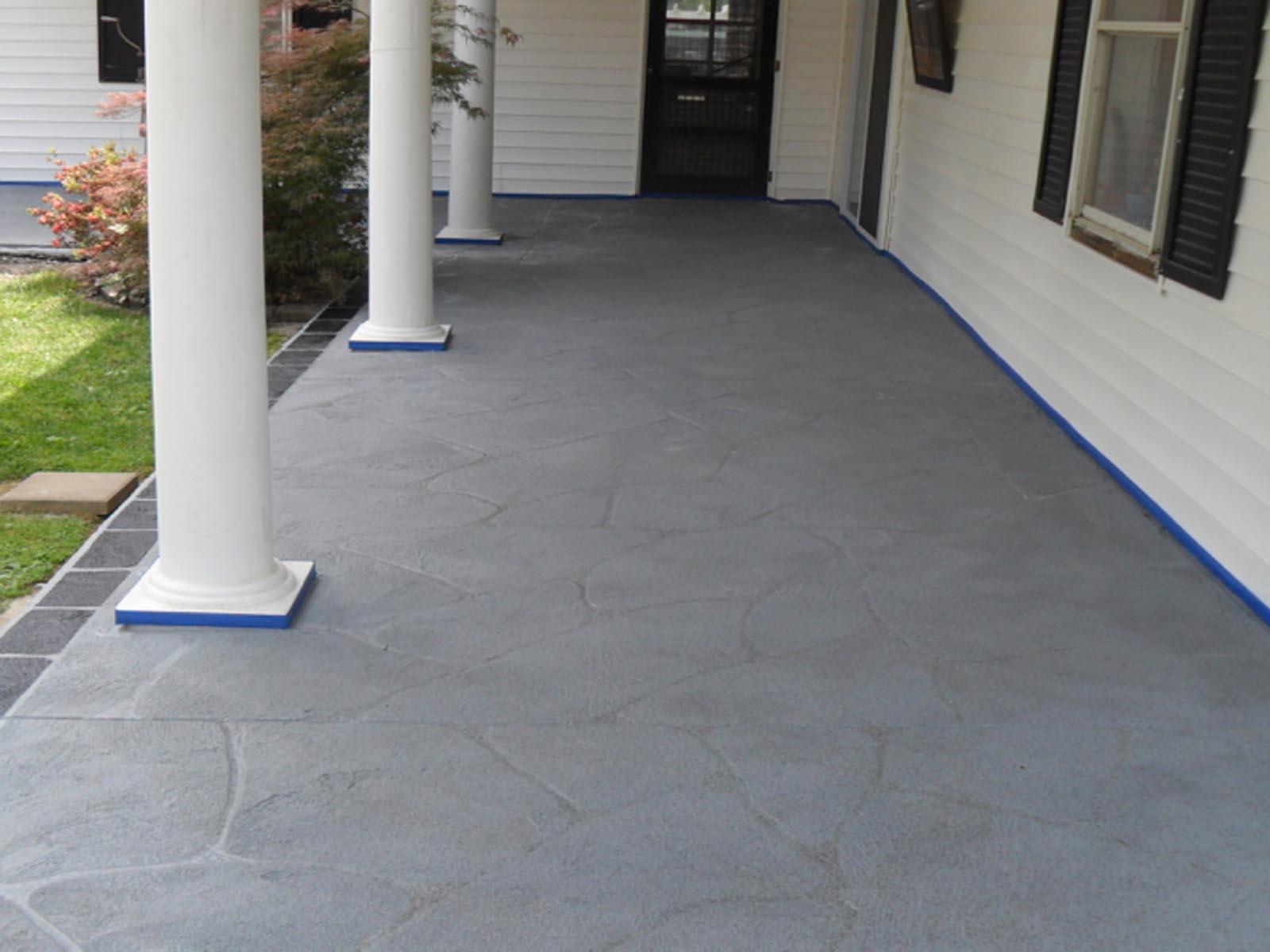 Stone Patterned Concrete