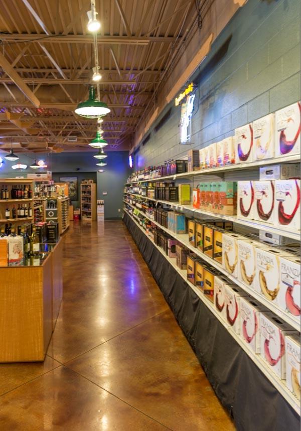 Grocery Store Concrete Floors