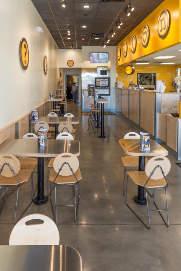 Restaurant Concrete Floors
