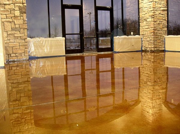 Stained Concrete Knoxville TN