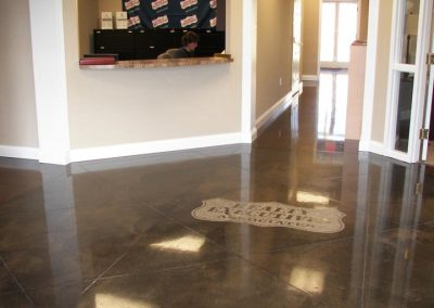 Stained Concrete Surfaces
