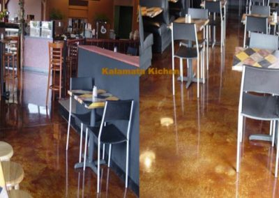 Stained Concrete Surfaces - Commercial Locations