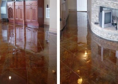 Stained Concrete Surfaces - Create Your Own
