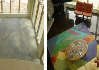 Stained Concrete Surfaces - Let Us Create Your New Space
