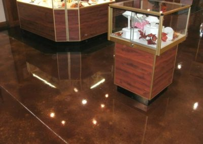 Stained Concrete Surfaces - Rick Terry
